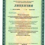 1 Лицензия на медицинскую деятельность
